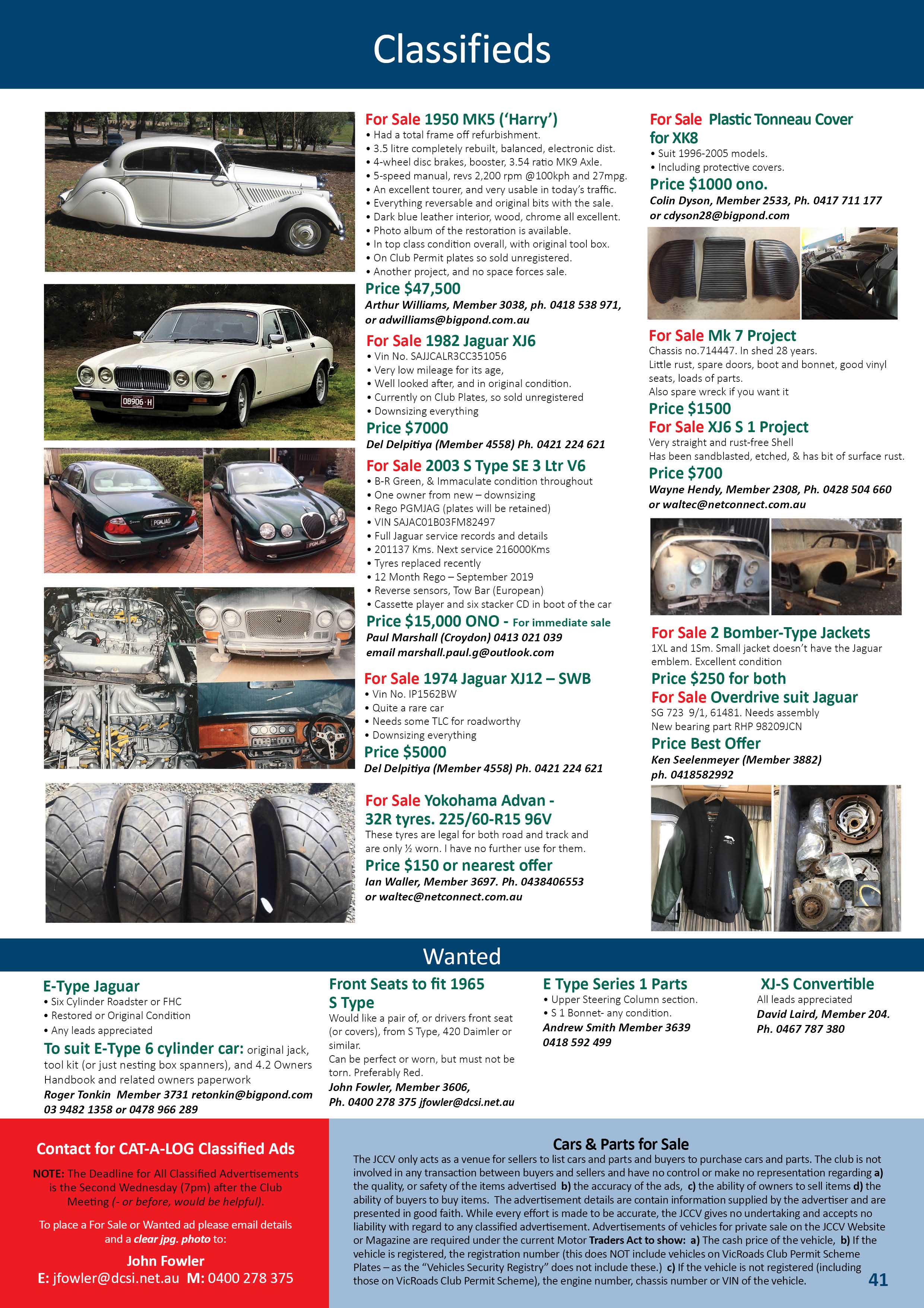 CLASSIFIEDS SEPTEMBER 2018 2